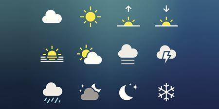 תמונה עבור הקטגוריה מזג אוויר