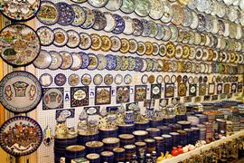 Picture of Picture of a Ceramic shop in Jerusalem