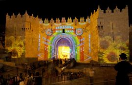 Imagem de  IMG_9980 Light Festival damascus gate