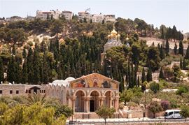 Picture of Picture of Churches on the Mount of Olives