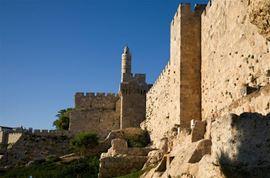 Picture of Photo des remparts de la cité de David