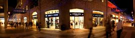 Picture of Picture of a panoramic view of shops in Mamilla Avenue