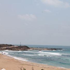 חוף אכזיב - Achziv Beach