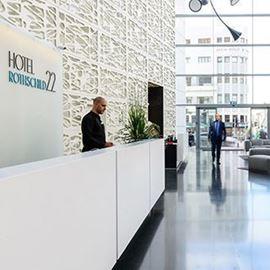 מלון רוטשילד 22 - קבלה - Rotchild 22 Hotel - Reception
