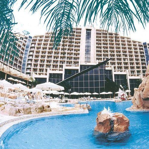 חזית מלון דן אילת - Front of Dan Eilat Hotel