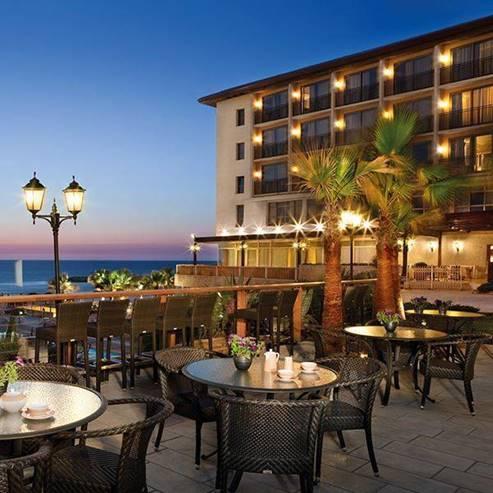 מרפסת מלון דן אכדיה - Dan Accadia Balcony