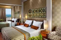 חדר  במלון דן אכדיה עם נוף לים
