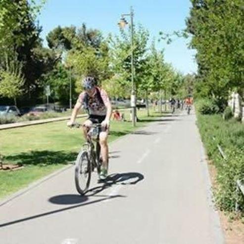 מסלול אופניים מעגלי בירושלים - A circular bicycle route in Jerusalem