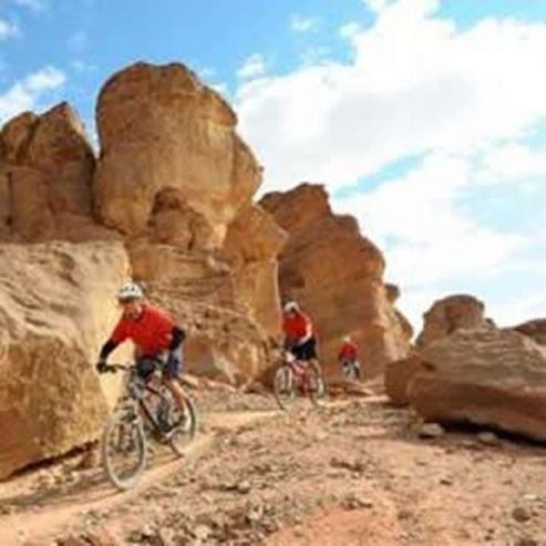 מסלול אופניים בתמנע - Bike route in Timna
