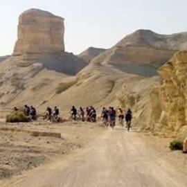 מסלול אופניים בנהר פרצים והר סדום - Bike route in Prazim river and Mount Sedom