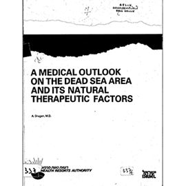 Picture of A MEDICAL OUTLOOK ON THE DEAD SEA AREA AND ITS NATURAL RESOURCES