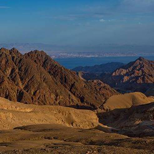 The Uvda Valley and Eilat Mountains - עמק עובדה והרי אילת