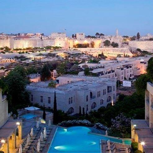 חזית מלון מצודת דוד