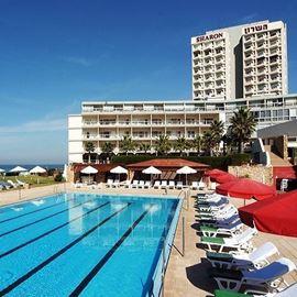 מלון השרון - בריכה - HaSharon Hotel - Pool