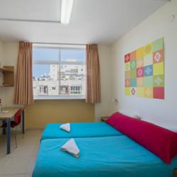 אברהם הוסטל ירושלים - חדר שינה - Avraham Hostel Jerusalem - Bedroom