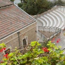 """אכסניית אנ""""א ירושלים - אגרון - מבט מבחוץ"""