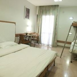 "אכסניית אנ""א בית שאן - חדר שינה - ANA Hostel Beit Shean - Bedroom"