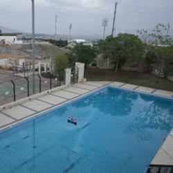 """אכסניית אנ""""א בית שאן - בריכה - ANA Hostel Beit Shean - Pool"""