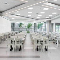 """אכסניית אנ""""א חיפה - חדר אוכל - ANA Hostel Haifa - Dining room"""