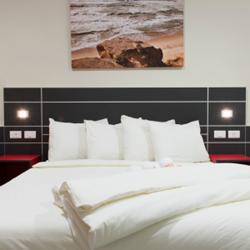 """אכסניית אנ""""א חיפה - חדר שינה - ANA Hostel Haifa - Bedroom"""
