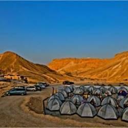 חניון לילה מצדה - Masada Campsite