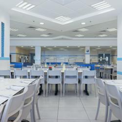 """אכסניית אנ""""א עין גדי  - חדר אוכל - ANA Hostel Ein Gedi - Dining room"""