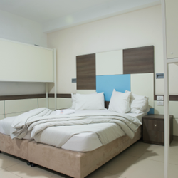 """אכסניית אנ""""א עכו - חדר שינה - ANA Hostel Akko - Bedroom"""