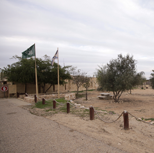 חניון לילה תל ערד  - Tel-Arad Campsite