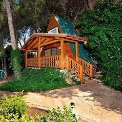 ארץ הגליל - בקתה מעץ - Eretz HaGalil - Wooden Cabin