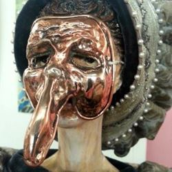 פרצוף עם מסיכה - Face with mask
