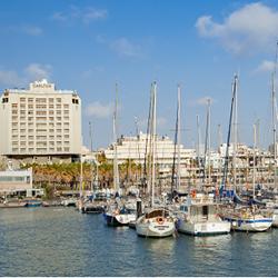 נוף המרינה ממלון קרלטון - Marina view from Carlton Hotel