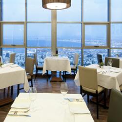 חדר אוכל - קראון פלזה - Dining Room - Crown Plaza Hotel
