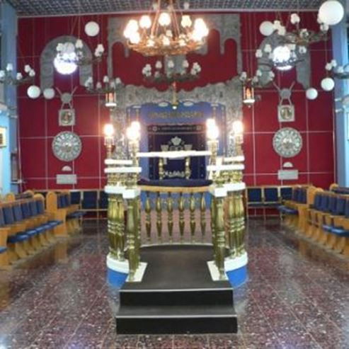 בית הכנסת חזית - Synagogue Front