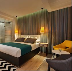 מלון פרימה סיטי - חדר שינה - Prima City Hotel - Bedroom