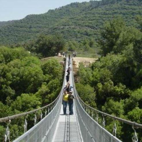 הגשר התלוי בנשר  - Hanging Bridge in Nesher
