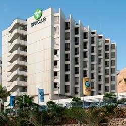 חזית מלון פרימה ספא קלאב - Front of Prima Spa Club Hotel