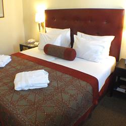 חדר השינה - מלון פרימה המלכים - Bedroom - Prima Kings Hotel
