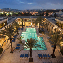 מלון דן ירושלים בריכה  - Hotel Dan Jerusalem Pool