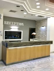 קבלת מלון ברגר - Reception Hotel Berger