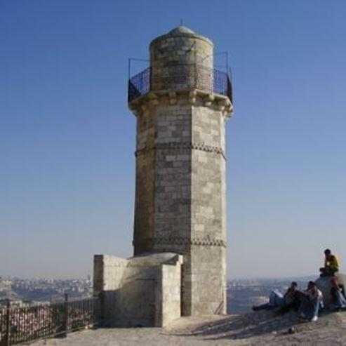 צריח נבי סמואל  - The minaret of Nebi Samuel