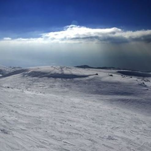 נוף מהר החרמון - View from Mount Hermon