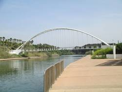גשר נחל חדרה - Hadera River Bridge