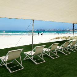נוף ממלון חוף עכו - View from Acre Beach Hotel