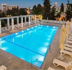 בריכת מלון לאונרדו פלאזה ירושלים - Hotel Pool Leonardo Plaza Jerusalem
