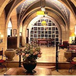 לובי מלון שלוש הקשתות - Lobby Three Arches Hotel