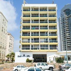 מלון גליל - חזית - Galil Hotel - Front