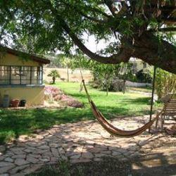 צימר כפר נבון - ערסל בחצר - Kfar Navon Zimmer - Hammock in yard