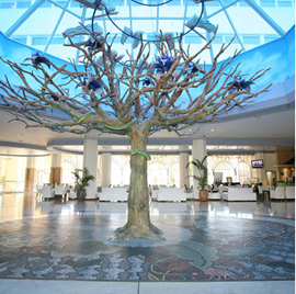 לובי מלון קראון פלזה - Lobby Crown Plaza Hotel