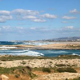 שמורת טבע חוף הבונים, יום בהיר אחרי סערה  - Habonim Beach Nature Reserve, a clear day after a storm