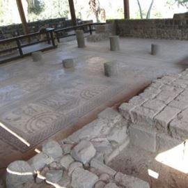 רצפת פסיפס - גלגל המזלות - Mosaic floor - the zodiac
